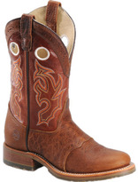 "Roper Men's Double H 11"" Domestic Bison Collared ICE"
