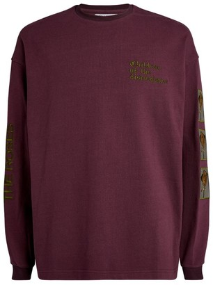 Children Of The Discordance Rose Embroidered Sweatshirt