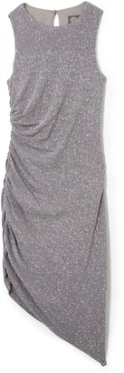 Vince Camuto Ruched Asymmetrical Sheath