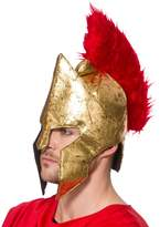 Wicked Adult Warrior Helmet Hat Fancy Dress Accessory Roman Gladiator Centurion Legion