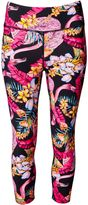 Matthew Williamson Flamingo Print Capri Leggings