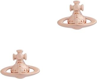 Vivienne Westwood Lorelei Rose Gold-tone Stud Earrings