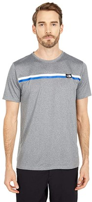 The North Face Americana Reaxion Short Sleeve Graphic Tee (TNF Red) Men's Clothing