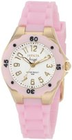 Invicta Women's 1617 Angel White Dial Pink Silicone Watch