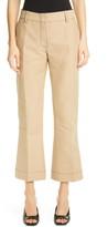 Marni Crop Flare Cotton Pants