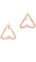 Ef Collection Chevron Wrap Stud Earrings