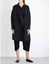 Issey Miyake Cosmic ripple knitted coat