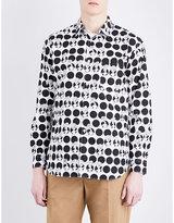 Comme Des Garcons Shirt Monster-print Cotton Shirt