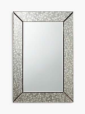 John Lewis & Partners Greta Bevelled Mirror, 90 x 60cm, Clear