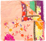 Etro floral print scarf - women - Modal/Cashmere - One Size