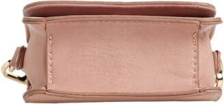 Mali & Lili Micro Mini Willow Vegan Leather Crossbody Bag