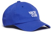 Pound 'Yacht Club' embroidered baseball cap