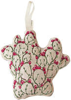 "Coral & Tusk 4"" Prickly Pear Ornament - Pink/Green"