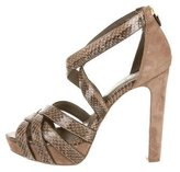 Tory Burch Snakeskin Sandals