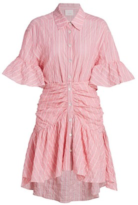 Cinq à Sept Asher Striped Shirt Dress