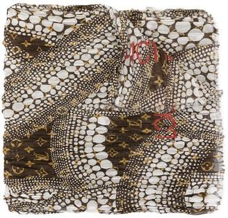 Louis Vuitton x Kusama Yayoi pre-owned monogram Waves Infinity scarf
