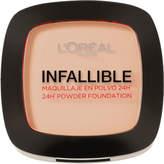 L'Oreal Infallible 24hr Powder Foundation #123 Warm Vanilla 9g