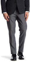 "Bonobos Foundation Grey Tweed Trim Fit Double-Pleated Cotton Trouser - 30-32"" Inseam"