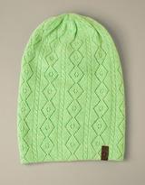 True Religion Womens Crochet Beanie