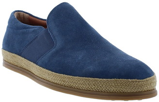 English Laundry Bolton Suede & Jute Slip-On Sneaker