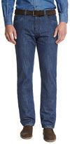 Loro Piana Straight-Leg Denim Jeans, Medium Blue
