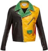 Loewe Multicolour Leather Jackets