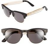 Toms Men's 'Lobamba' 50Mm Sunglasses - Matte Black