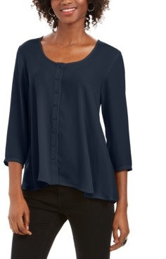 Style&Co. Style & Co Swing Blouse, Created for Macy's