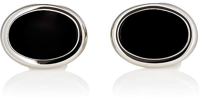 Barneys New York Men's Oval Cufflinks