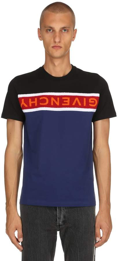 Givenchy Band Cotton Jersey T-Shirt
