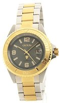Croton Mens Two-Tone Stainless Steel & IP Gold Date Casual Watch CA301252TTGY