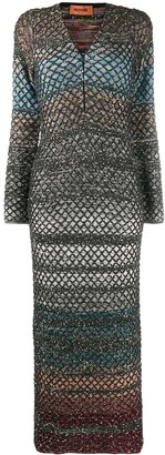 Missoni Glitter Knit Tube Dress