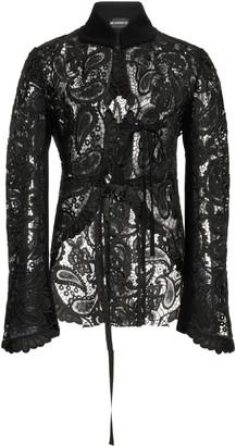 Ann Demeulemeester Paisley Guipure Lace Jacket