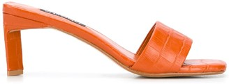 Senso Croc-Effect Sandals