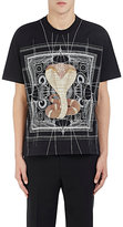 Givenchy Men's Cobra-Print Jersey T-Shirt-BLACK