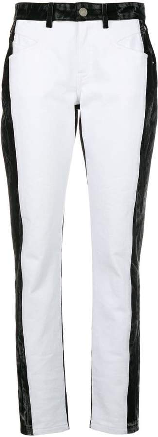 Givenchy high waisted straight jeans