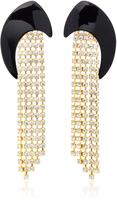 Jennifer Behr M'O Exclusive Gold-Plated Swarovski Crystal Earrings