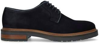 Kurt Geiger London Suede Farringdon Derby Shoes