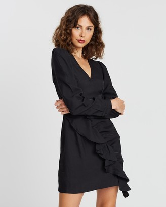 Atmos & Here Bianca Ruffle Mini Dress