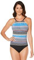 Jantzen Farah Batik Stripe 1pc Swimsuit