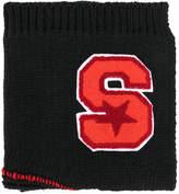 Raf Simons letter badge panel scarf