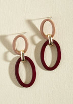 ModCloth Just Can't Get Oval These Earrings