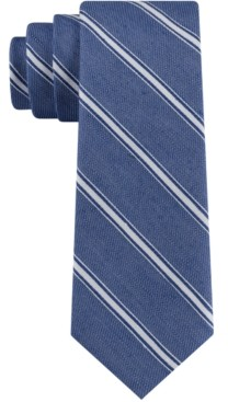 Tommy Hilfiger Men's Coastline Stripe Skinny Tie