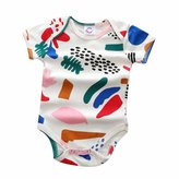 Kids Tales Funny Baby Bodysuits Baby Boys Girls Onesies Boutique Quality Romper(7-24M)