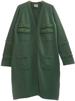 Chanel Green Cashmere Knitwear