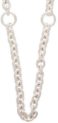 All Blues - Triple Sterling-silver Chain Necklace - Silver