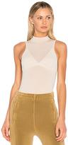 Yeezy Season 4 High Legline Bodysuit in Cream. - size L (also in XS)