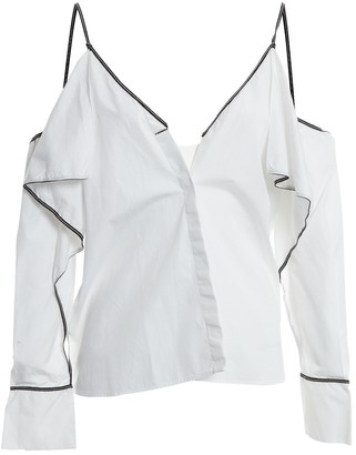 Thierry Mugler White Cotton Top for Women
