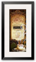 "Art.com Coffee Shop Menu"" Framed Art Print By Lisa Audit"