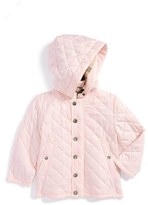 Burberry Toddler Girl's Hooded Quilted Jacket